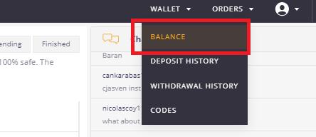 コインズビット出金方法