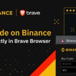 brave(ブレイブ)がbinance(バイナンス)と提携!ブラウザ上での仮想通貨取引を可能に!