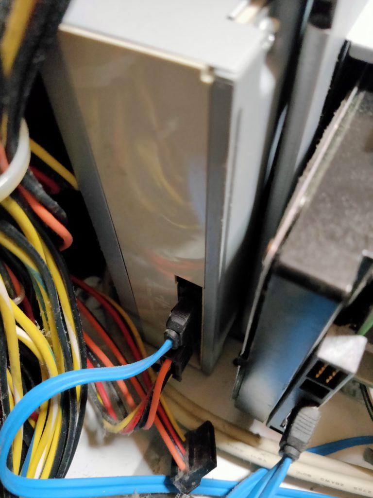 電源ユニットとの接続部⑥