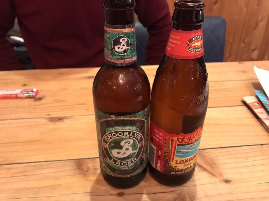 N.Y.tableビール